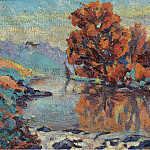 Картины с аукционов Sotheby's - Armand Guillaumin - The Creuse, 1908