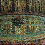 Sotheby's - Henri Le Sidaner - The Pool with Duckweed, 1916