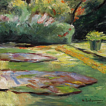 Sotheby's - Max Liebermann - Wannsee Garden, Flower Terrace to the Northeast, 1925