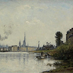Sotheby's - Stanislas Lepine - The Seine at Rouen