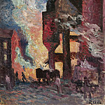 Sotheby's - Maximilien Luce - High Furnaces, 1896-99