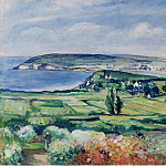 The Plain of Crozon, Finistere, 1923, Анри Лебаск