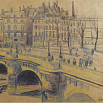 Sotheby's - Maximilien Luce - pont Neuf and the Quay of Conti