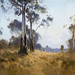 Картины с аукционов Sotheby's - Pengleigh Boyd - Ghost Gum at Kangaroo Flat, 1921