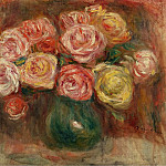 Sotheby's - Pierre Auguste Renoir - Vase with Flowers 02