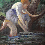 Sotheby's - Maximilien Luce - Bathing