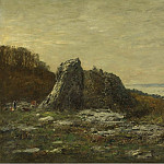 The Outskirts of Brest, the Estuary of the Elorn River, 1873, Eugene Boudin