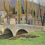 Sotheby's - Henri Martin - The Bridge in Labastide-du-Vert, 1930
