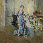 Картины с аукционов Sotheby's - Giovanni Boldini - The Last Glance in the Mirror