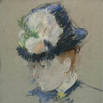 Sotheby's - Berthe Morisot - Head of English Woman, 1884-85