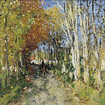 Sotheby's - Pierre-Eugene Montezin - Alley in the Forest