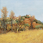 Картины с аукционов Sotheby's - Marcel Dyf - The Hill of Gaude, 1975