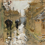 Sotheby's - Pierre-Eugene Montezin - Under the Rain