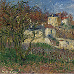 Sotheby's - Gustave Loiseau - The Hills of Hermitage, Pontoise, 1930