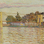 Sotheby's - Auguste Herbin - The Bridge, 1906