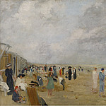 Sotheby's - Ernst Oppler - At the Beach