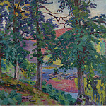 Sotheby's - Armand Guillaumin - Landscape of the Creuse, 1910