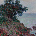Картины с аукционов Sotheby's - Claude Monet - Mediterannian Coast, Grey Weather, 1888