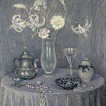 Sotheby's - Henri Le Sidaner - The Table, Harmony in Grey, 1927