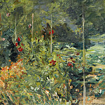 Sotheby's - Max Liebermann - The Garden to the West of Wannsee, 1920
