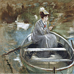 Sotheby's - Eva Gonzales - In the Boat