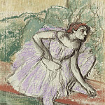 The Dancer in Violet, 1895-98, Эдгар Дега