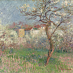 Sotheby's - Gustave Loiseau - Spring, Outskirts of Pontoise, 1920