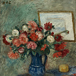 Sotheby's - Georges dEspagnat - Vase of Flowers