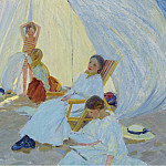 Sotheby's - Dorothea Sharp - A Day at the Sea