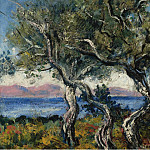 The Olive Trees, 1938, Francis Picabia