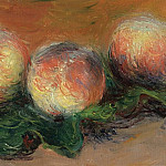 Peaches, 1882, Claude Oscar Monet