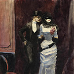 Картины с аукционов Sotheby's - Jean-Louis Forain - At the Masquerade, 1885