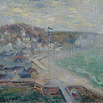 Картины с аукционов Sotheby's - Gustave Loiseau - The Beach of Fecamp, 1925