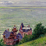 Villas at Trouville, 1884, Gustave Caillebotte