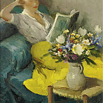 Картины с аукционов Sotheby's - Marcel Dyf - Claudine Reading, 1957