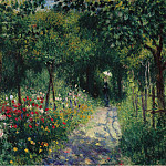 Sotheby's - Pierre Auguste Renoir - Women in the Garden, 1873