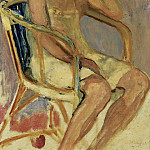 Young Woman Seated, Анри Лебаск