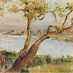 View of Antibes, Анри Лебаск
