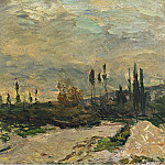 Картины с аукционов Sotheby's - Albert Lebourg - The Sunset at the Seine near Vetheuil