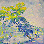 Картины с аукционов Sotheby's - Henri Edmond Cross - Benting Tree, 1905