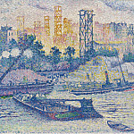 Картины с аукционов Sotheby's - Henri Edmond Cross - The Quay of Passy, 1899