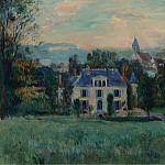 Картины с аукционов Sotheby's - Albert Lebourg - The House of Paulin, 1899