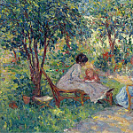 Sotheby's - Georges d Espagnat - In the Garden