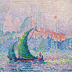 Картины с аукционов Sotheby's - Paul Signac - The Golden Horn, 1907