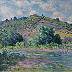 The Banks of the Seine at Port-Villez, 1885, Claude Oscar Monet