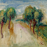 Картины с аукционов Sotheby's - Pierre Auguste Renoir - The Shady Path