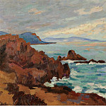 Sotheby's - Armand Guillaumin - The West, Trayas-Agay, 1913