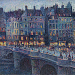 Sotheby's - Maximilien Luce - The Quay Conti, 1894