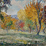 Sotheby's - Henri Lebasque - Landscape with Trees, 1907