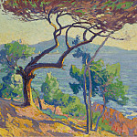 Sotheby's - Paul Madeline - The Red Rocks, 1912